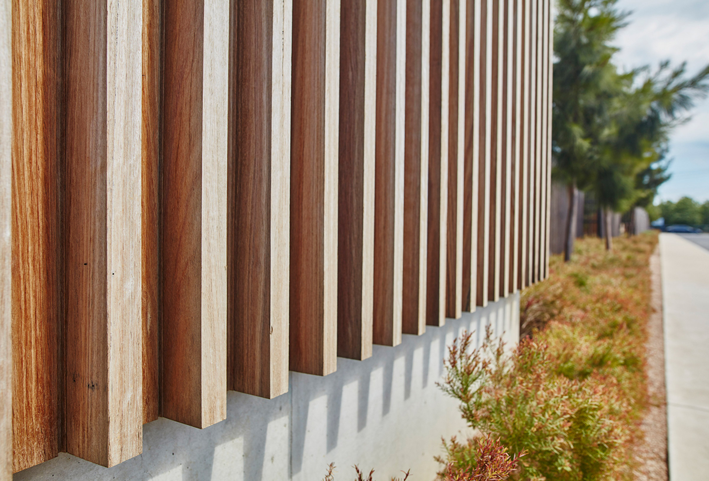 Sculptform - Battens on Cladding