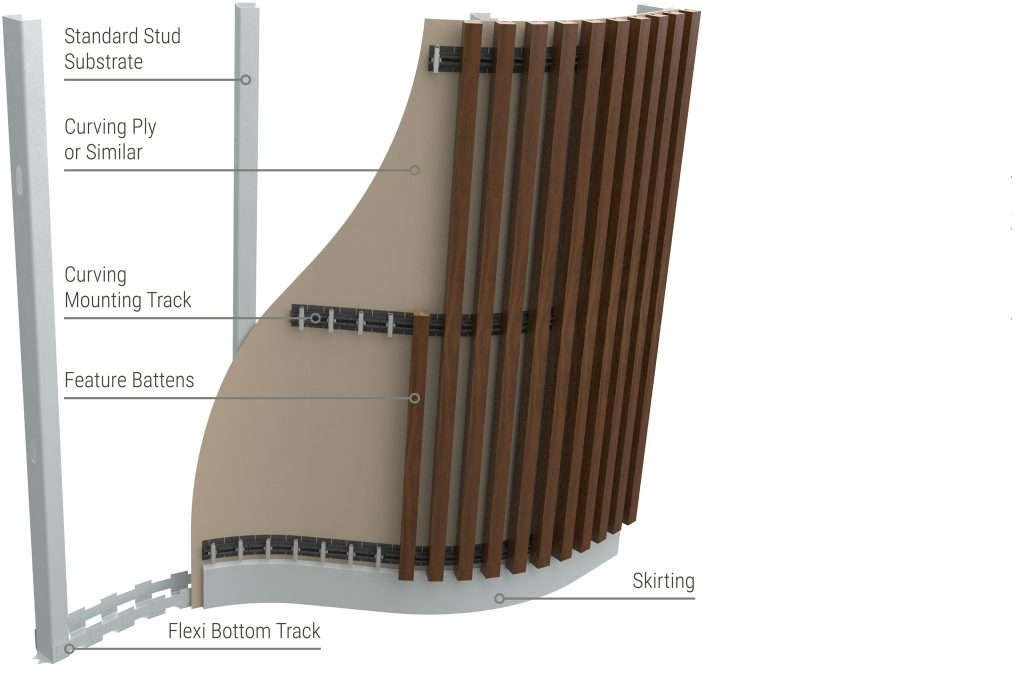 Sculptform-click-on-battens-curved-walls