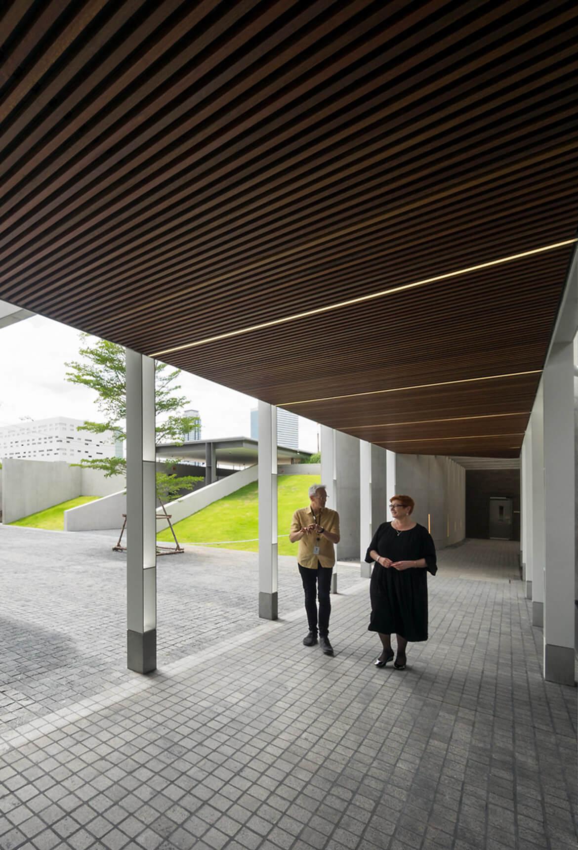 Sculptform Australian Embassy Bangkok