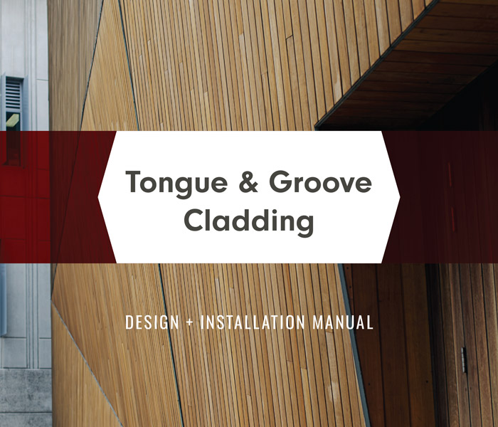 Sculptform - Tongue and Groove Cladding Manual