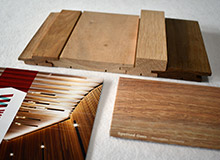Sculptform Tongue and Groove Cladding Timber Sample Kit