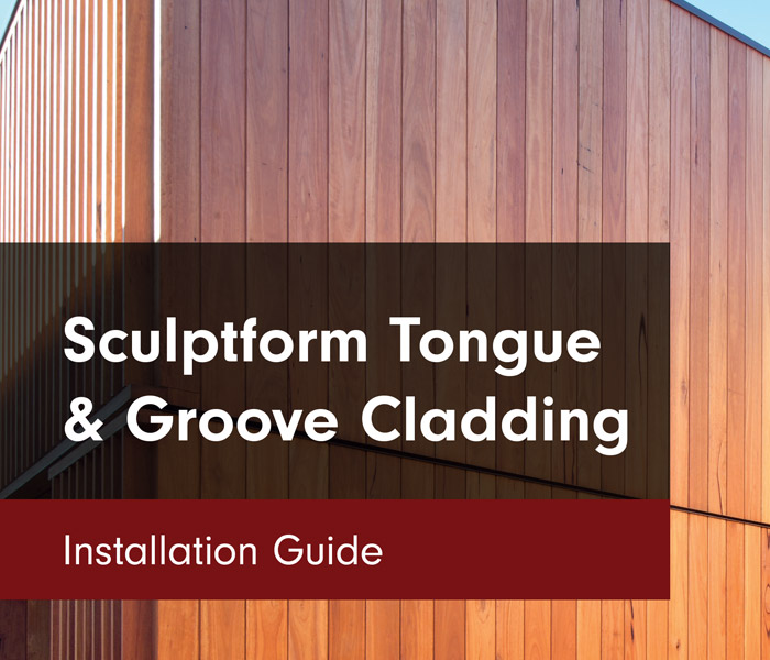 Sculptform Tongue & Groove Cladding Installation Guide