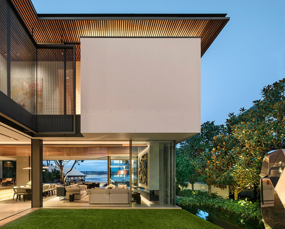 Sculptform Double Bay House