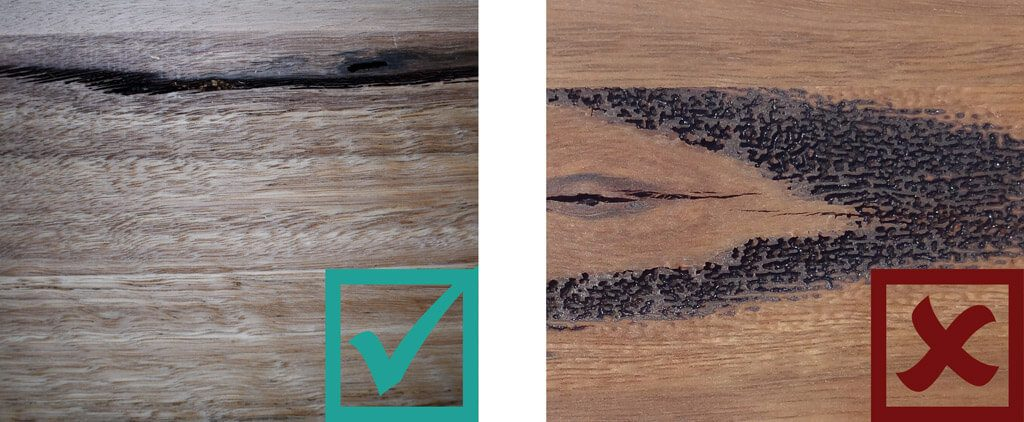 Sculptform Timber Grading - Gum Veins Standard