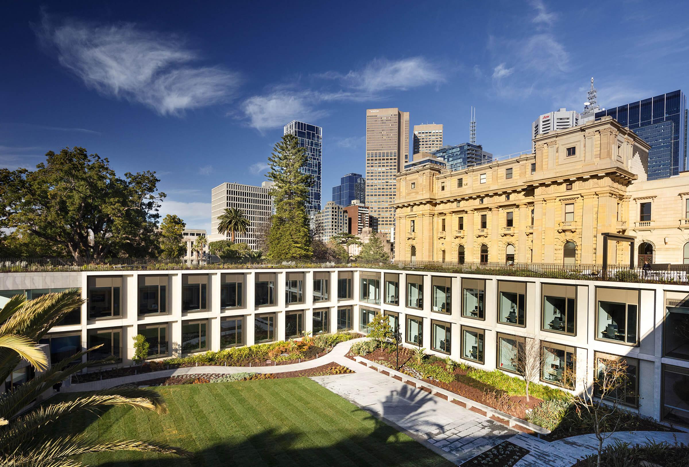 Sculptform Melbourne Parliament