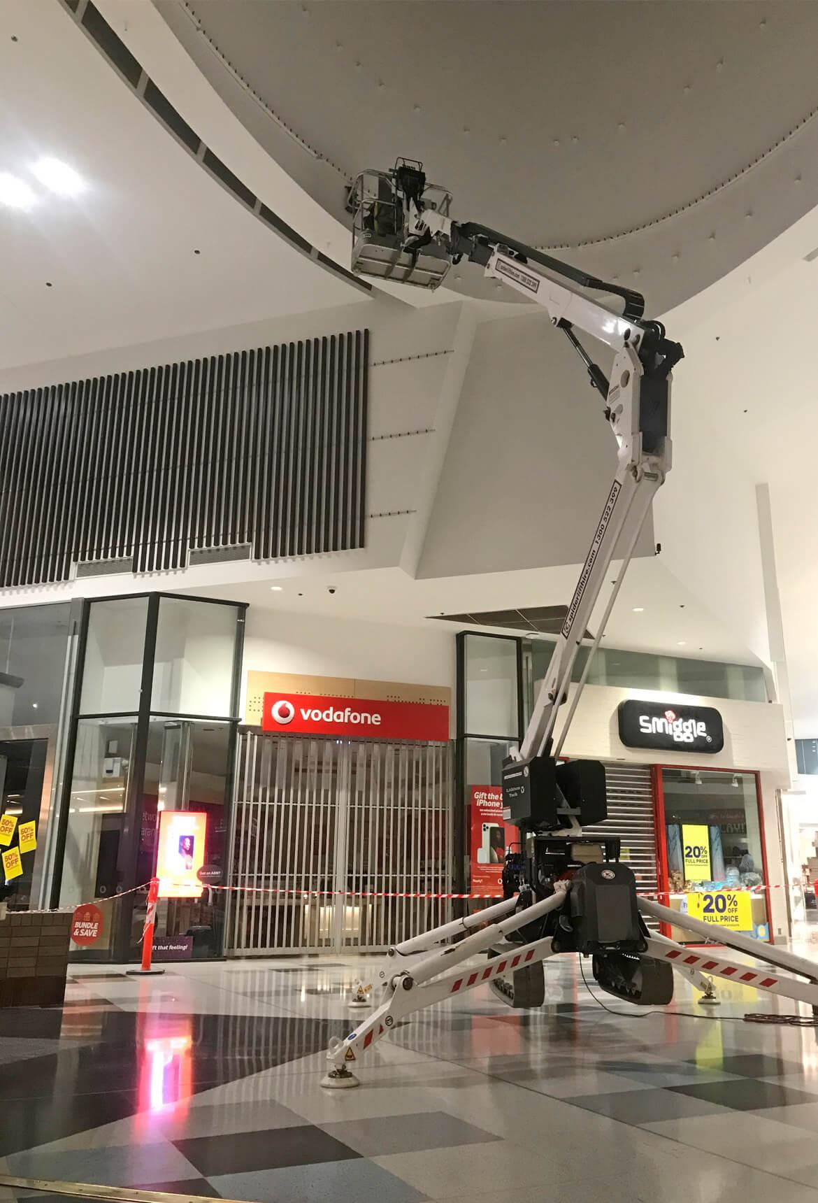 Victoria Gardens Shopping Centre - Sculptform Install