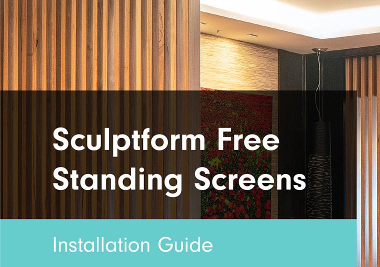 Sculptform Free Standing Screens