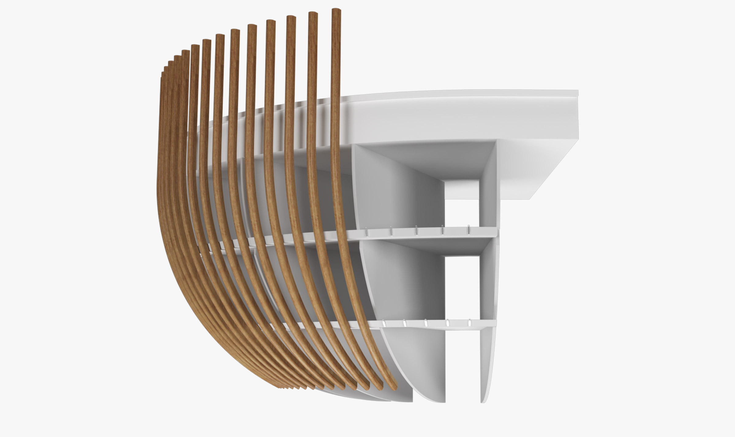 Sculptform Curved Timber how it works