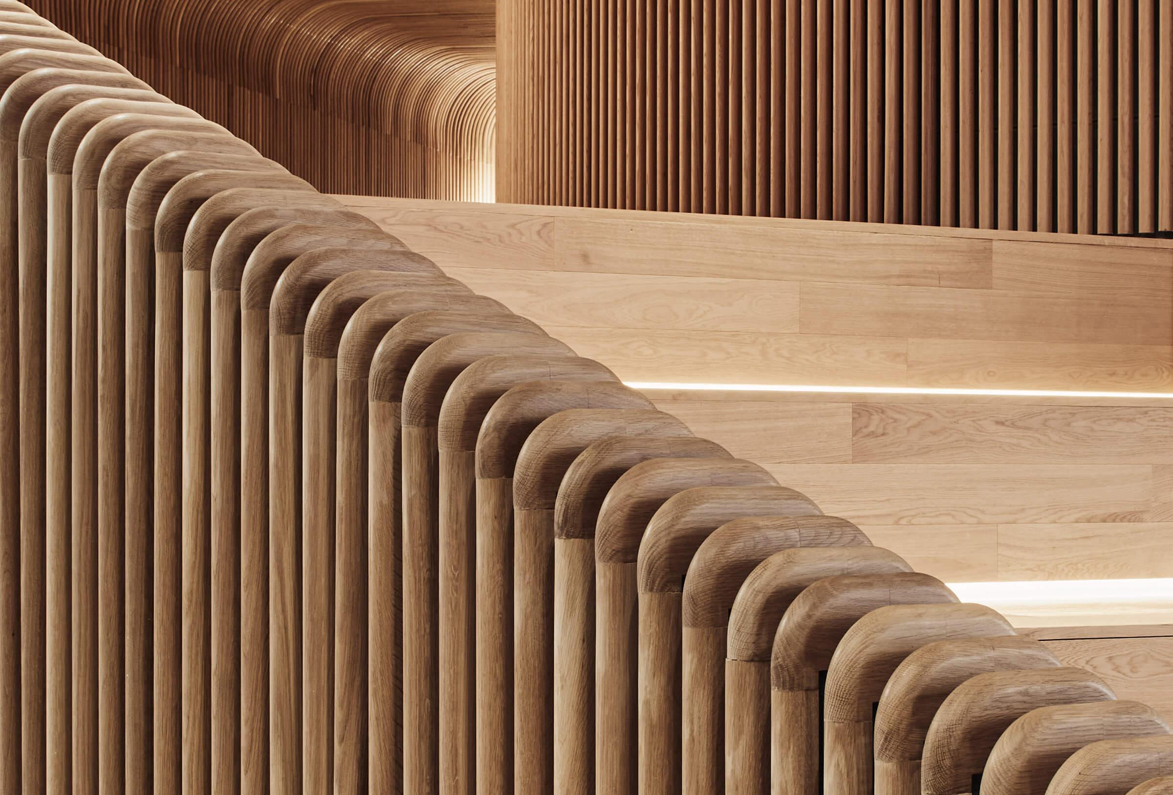 Sculptform Curved Timber CNC