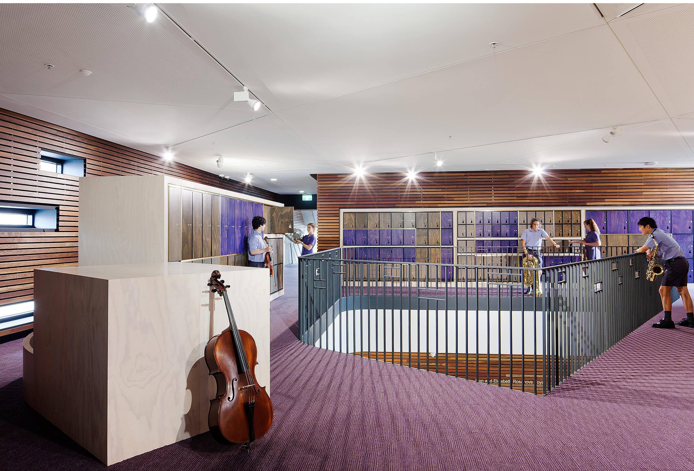 Wesley College School of Music Sculptform