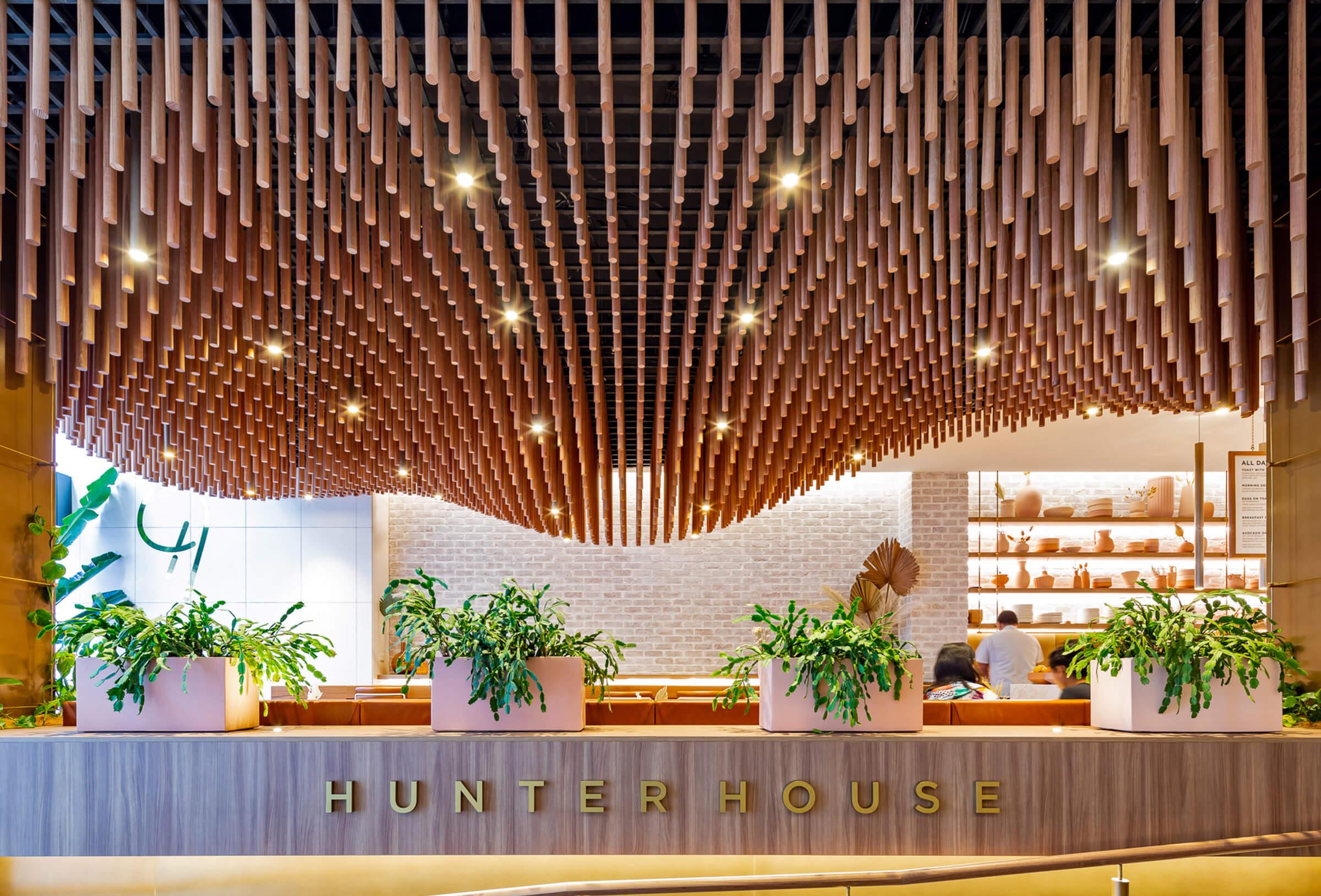 Hunter House Cafe Sculptform