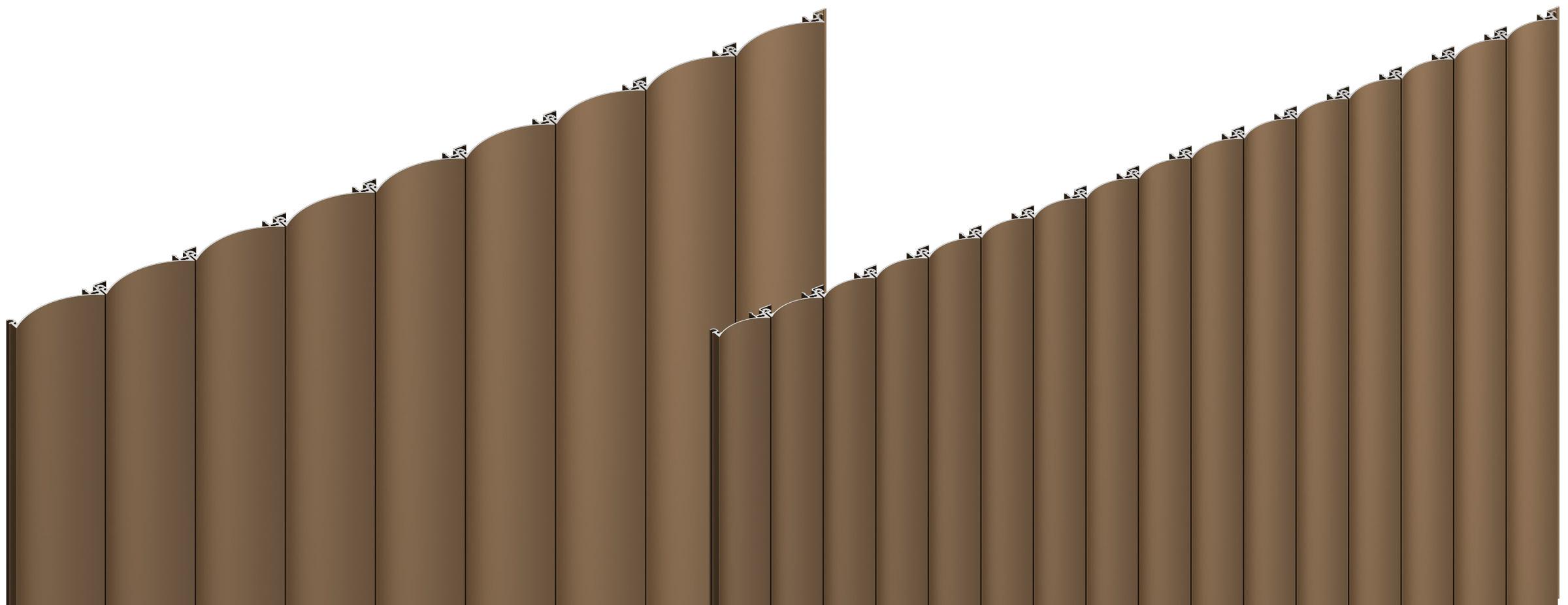 Sculptform Aluminium Click-on Cladding flute profile