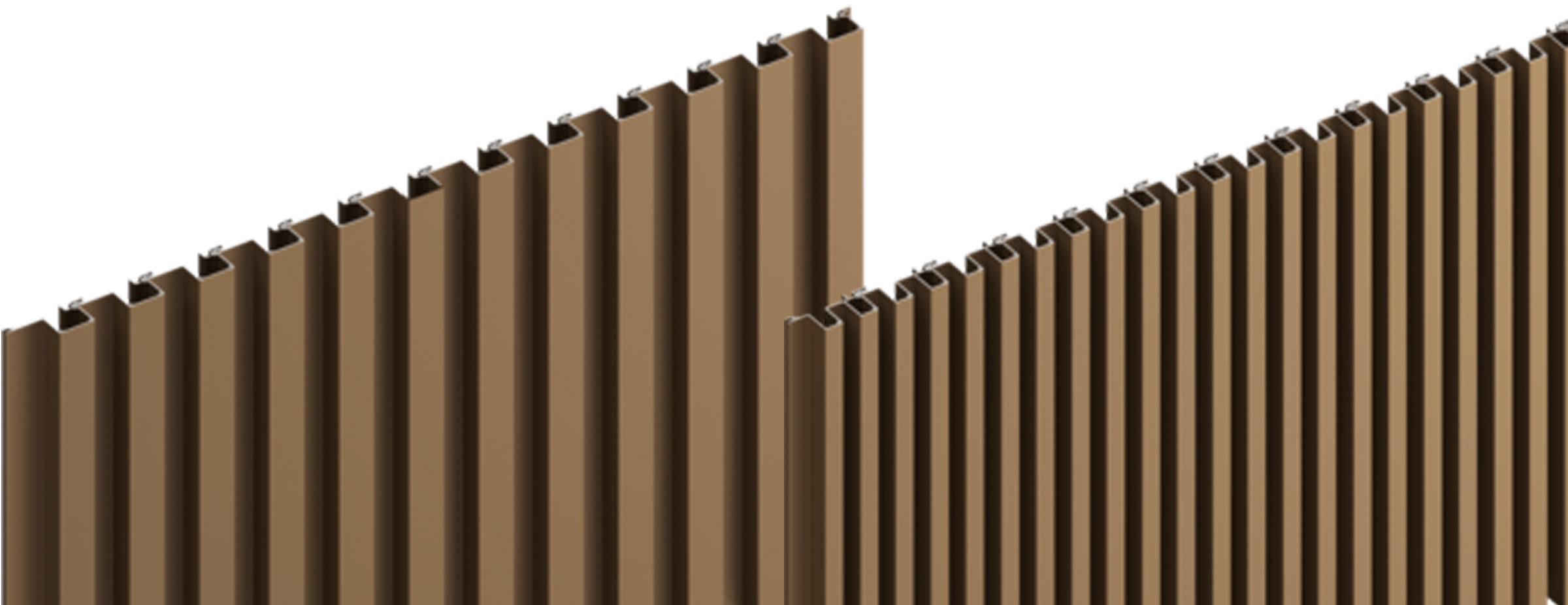 Sculptform Aluminium Click-on Cladding block profile